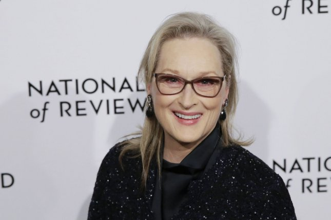 Meryl Streep is to be inducted into the New Jersey Hall of Fame this spring. File Photo by John Angelillo/UPI