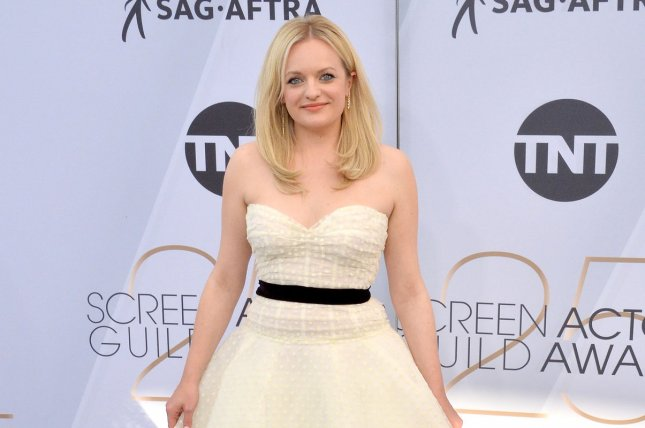 Elisabeth Moss stars in the The Handmaid's Tale. Season 3 is coming soon. File Photo by Jim Ruymen/UPI