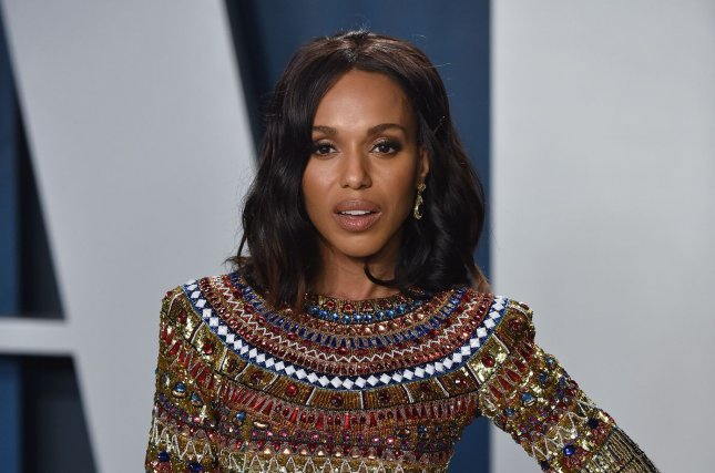 Kerry Washington is set to guest host Jimmy Kimmel Live! on Monday and Tuesday. File Photo by Chris Chew/UPI