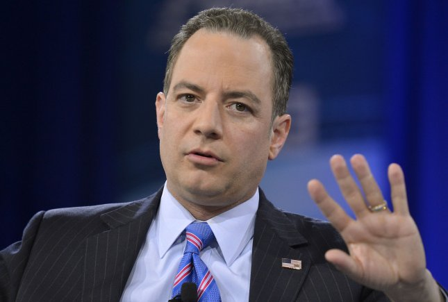 Republican National Committee Chairman Reince Priebus says House Speaker Paul Ryan will eventually endorse Donald Trump for president. File Photo by Mike Theiler/UPI