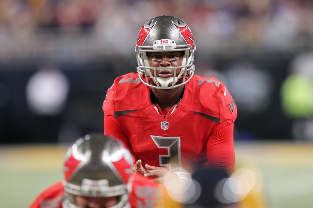 Tampa Bay Buccaneers quarterback Jameis Winston waits for the snap in the fourth quarter against the St. Louis Rams at the Edward Jones Dome in St. Louis on December 17, 2015. St. Louis defeated Tampa Bay 31-23. File Photo by Bill Greenblatt/UPI