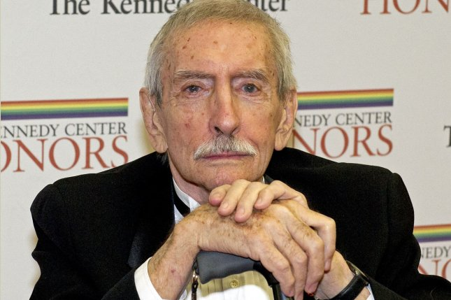 Edward Albee arrives for the formal Artist's Dinner honoring the recipients of the 2012 Kennedy Center Honors hosted by United States Secretary of State Hillary Rodham Clinton at the U.S. Department of State in Washington, D.C. on December 1, 2012. Albee died Sept. 16, 2016 at the age of 88. File Photo by Ron Sachs/Pool