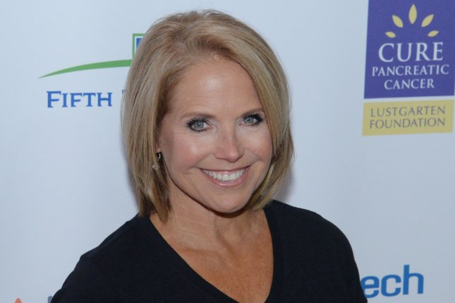 Katie Couric attends the 5th biennial Stand Up to Cancer televised fundraising event on September 9. Couric will return to co-host Today for a week in January. File Photo by Jim Ruymen/UPI
