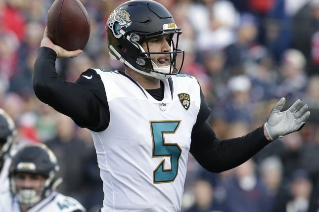 Blake Bortles underwent surgery for a injury to his right wrist