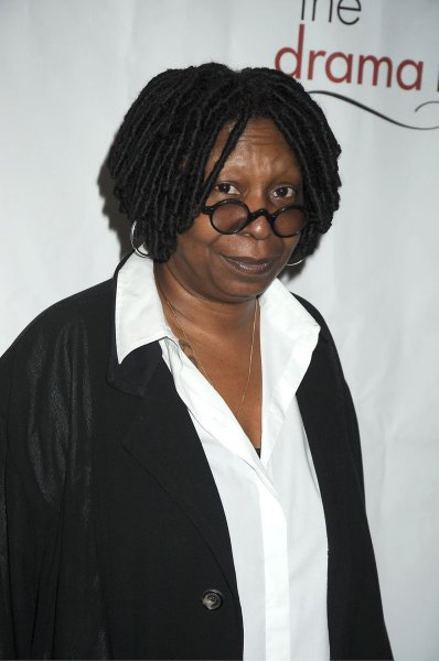 Whoopi Goldberg arrives for the Drama League Awards Ceremony and Luncheon at The Mariott Marquis Hotel in New York on May 20, 2011. UPI/Robin Platzer