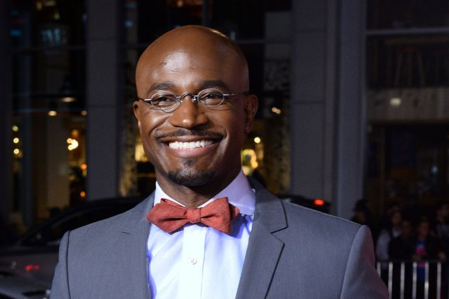 Taye Diggs has taken over the title role in the Broadway musical Hedwig and the Angry Inch. Photo by Jim Ruymen/UPI