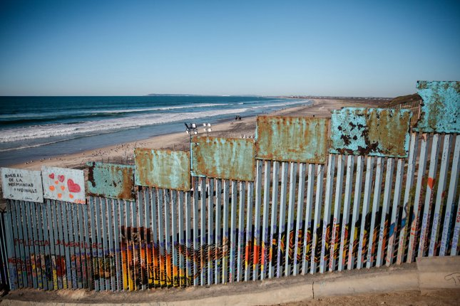 The border fence that divides the United States and Mexico from Playas de Tijuana. Republican Sen. Lindsey Graham said Sunday he believes a compromise on border security and immigration policy can save the day in the Senate to end the partial government shutdown. Photo by Ariana Drehsler/UPI