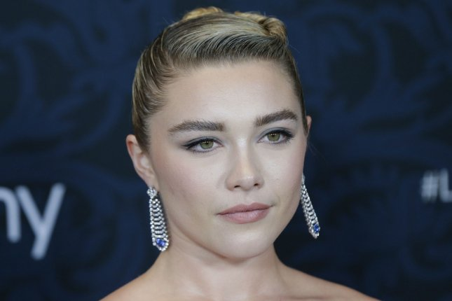 Florence Pugh, who will star with Scarlett Johansson in Black Widow, discussed the Marvel movie in a Vogue interview. File Photo by John Angelillo/UPI