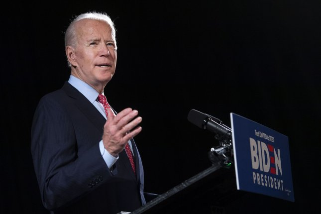Joe Biden's strategy indicates his campaign advisers know he is vulnerable to charges of being soft on China. File Photo by Kevin Dietsch/UPI