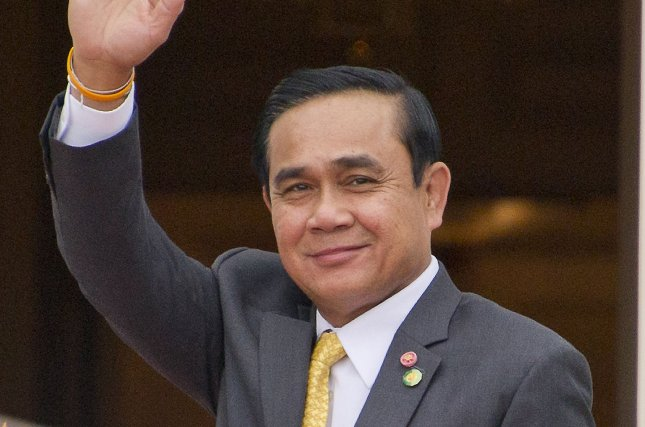 Prime Minister Prayut Chan-o-cha was not illegally occupying a military-owned residence, Thailand's Constitutional Court ruled Wednesday. Pool photo by Ron Sachs/UPI
