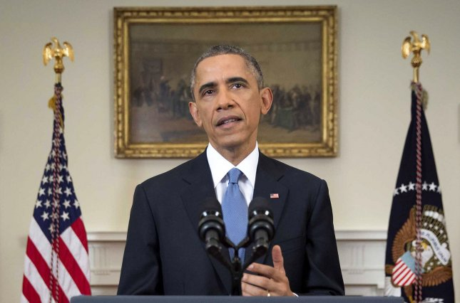 President Barack Obama announced in December that the United States and Cuba were working to normalize relations. The agreements included the release of political prisoners. Photo by Doug Mills/Pool/UPI