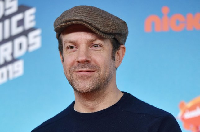 Ted Lasso star Jason Sudeikis attends Nickelodeon's Kids' Choice Awards in March 2019. File Photo by Chris Chew/UPI