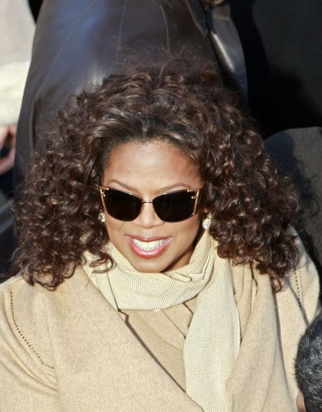 Oprah Winfrey arrives on the inaugural stage ahead of the inauguration of Barack Obama as the 44th President of the United States of America on the West Front of the Capitol January 20, 2009 in Washington. Obama becomes the first African-American to be elected to the office of President in the history of the United States. (UPI Photo/Mark Wilson/Pool)