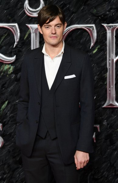 Sam Riley attends the premiere of Maleficient: Mistress Of Evil at Odeon Imax Waterloo in London on October 9. The actor turns 40 on January 8. File Photo by Rune Hellestad/UPI