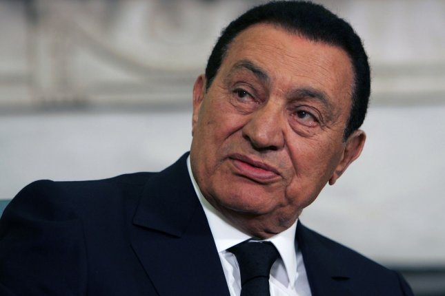 Egyptian President Hosni Mubarak held office for thirty years before being forced to resign in 2011. File pool photo by Dennis Brack/UPI