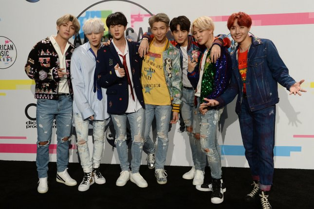 BTS' new album, Love Yourself: Answer, will feature 25 tracks. File Photo by Jim Ruymen/UPI