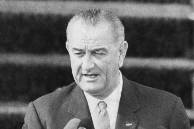 On January 8, 1964, President Lyndon B. Johnson, pictured giving his inaugural address in 1965, declared a War on Poverty in the United States during his first State of the Union address. UPI File Photo