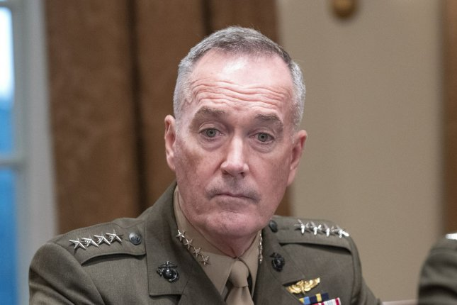 Gen. Joseph Dunford, chairman of the Joint Chiefs of Staff, said NORTHCOM has been in contact with the Department of Homeland Security about the border response. Photo by Ron Sachs/UPI