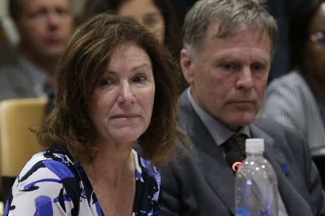 Cindy Warmbier and Fred Warmbier met with a South Korean lawmaker on Friday in Seoul. File Photo by John Angelillo/UPI