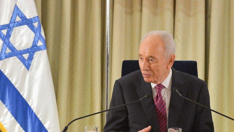 Israeli President Shimon Peres UPI/Yin Dongxun/Pool