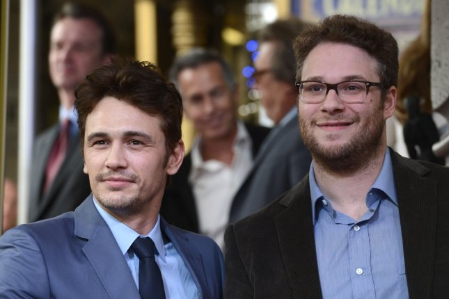 Seth Rogen's 'SNL' monologue features James Franco, Zooey Deschanel and Taylor Swift