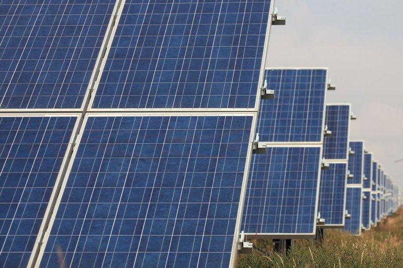 Solar power capacity increasing in the United States. (Stephen Shaver/UPI)