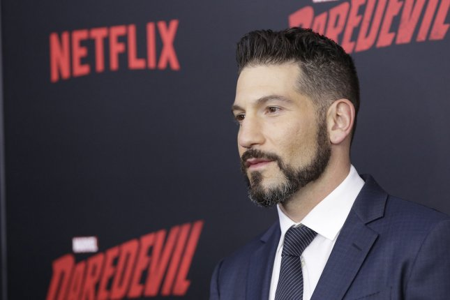 Jon Bernthal arrives on the red carpet at the Daredevil Season 2 premiere on March 10, 2016 in New York City. Bernthal will soon be seen on the big screen in Pilgrimage. File Photo by John Angelillo/UPI