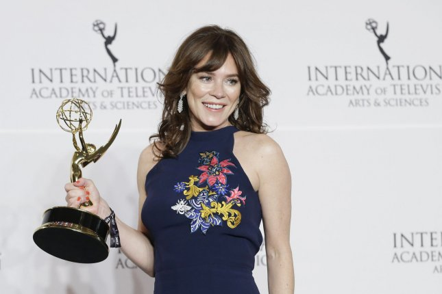 Anna Friel has landed the lead role of ITV's new series Deep Water. File Photo by John Angelillo/UPI