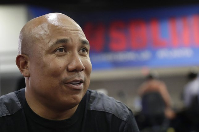 Retired Pittsburgh Steelers wide receiver Hines Ward says Ben Roethlisberger's criticism of his teammates on his radio show is a real problem for the AFC North franchise. Photo by John Angelillo/UPI