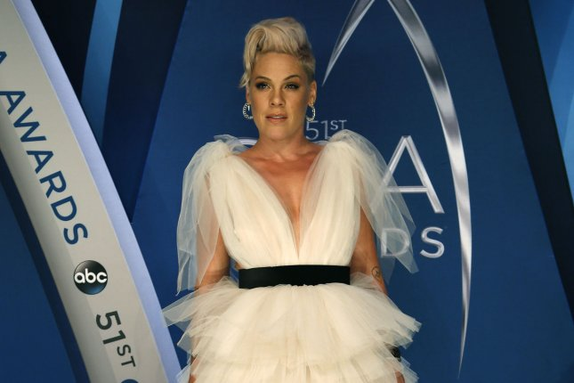 Pink is confirmed to perform at the AMA Awards on Nov. 9. File Photo by John Sommers II/UPI