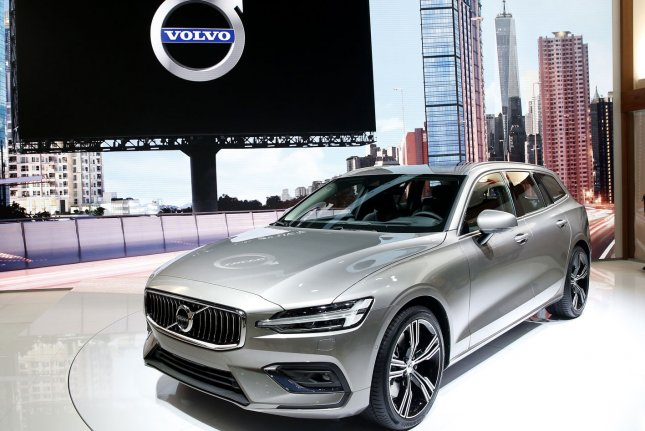 Volvos will be limited to 112 mph starting with the 2021 model year, the company announced. Photo by John Angelillo/UPI