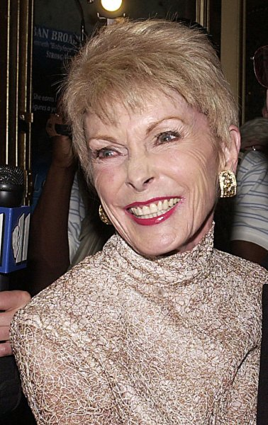 Actress Janet Leigh shown in May 2002, has died after a long illness at the age of 77. Leigh attained screen immortality as a murder victim in Alfred Hitchcock's film Psycho. (UPI Photo/Ezio Petersen)