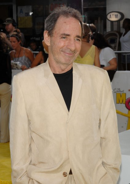 Harry Shearer, the voices including Mr. Burns, Ned Flanders, Principal Skinner, Rev. Lovejoy and President Arnold Schwarzenegger in the animated motion picture comedy The Simpsons Movie, arrives at the premiere of the film in the Westwood section of Los Angeles on July 24, 2007. (UPI Photo/Jim Ruymen)