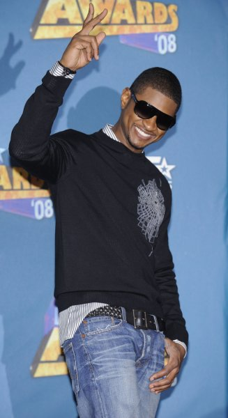 Usher attends the BET Awards 2008 in Los Angeles on June 24, 2008. (UPI Photo/ Phil McCarten)