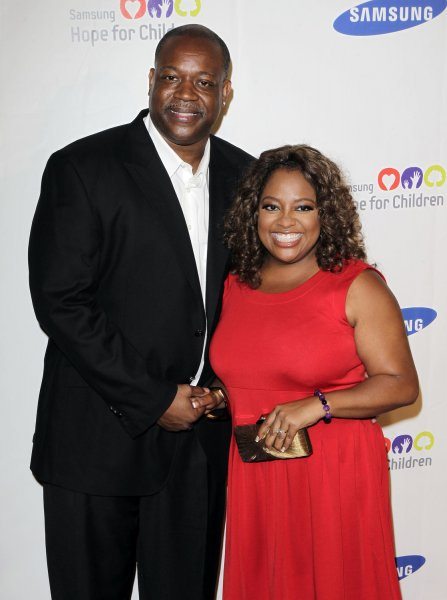 Sherri Shepherd and Lamar Sally arrive at the Samsung Hope for Children Gala at Cipriani on Wall Street in New York City on June 7, 2011. UPI/John Angelillo