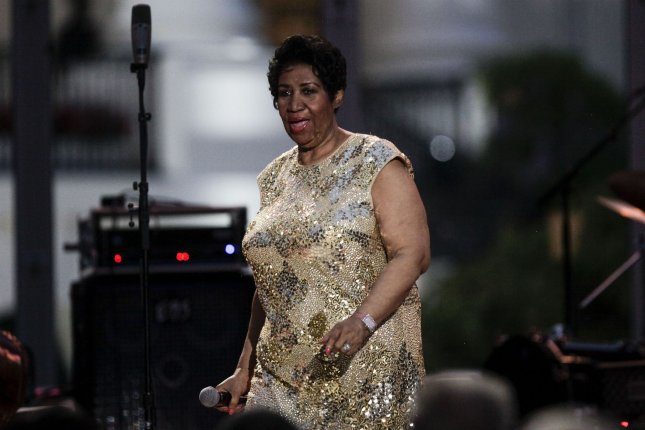 Aretha Franklin performs at the International Jazz Day Concert on the South Lawn of the White House, in Washington, DC, April 29, 2016. Franklin is to take the stage at next month's Tribeca Film Festival. Pool photo by Aude Guerrucci/UPI