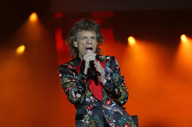 Mick Jagger of The Rolling Stones. The band will be performing at the 2019 New Orleans Jazz and Heritage Festival alongside Katy Perry. File Photo by David Silpa/UPI