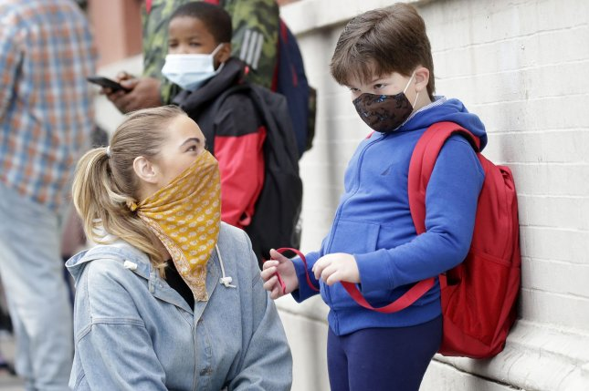 Sixty-six percent of respondents to a survey said they fear that the impact the COVID-19 pandemic has had on their children's mental health will be harder to reverse the longer it continues. File Photo by John Angelillo/UPI
