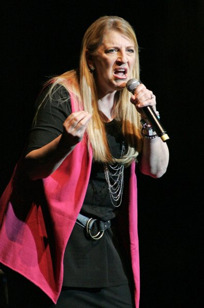Comedian Lisa Lampanelli performs in concert at the Fillmore Miami Beach at the Jackie Gleason Theater in Miami Beach on November 6, 2010. UPI/Michael Bush