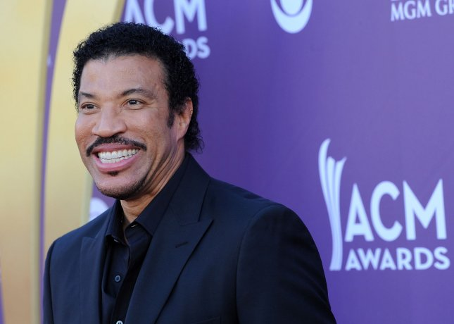 Singer Lionel Richie arrives at the 47th annual Academy of Country Music Awards at the MGM Hotel in Las Vegas, Nevada on April 1, 2012. UPI/Jim Ruymen