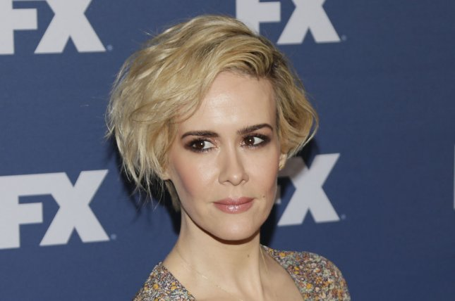 Sarah Paulson arrives on the red carpet at the FX Networks upfront screening of The People v. O.J. Simpson: American Crime Story at AMC Empire 25 Theater on March 30, 2016 in New York City. Paulson has signed on to star in creator Ryan Murphy's Hollywood drama Feud as Oscar winning actress Geraldine Page. File Photo by John Angelillo/UPI