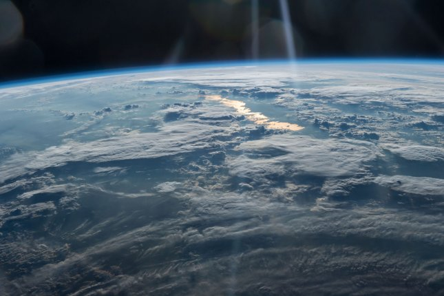 Oxygen in Earth's atmosphere remained at very low levels until relatively recently in the planet's history. Photo by NASA/UPI