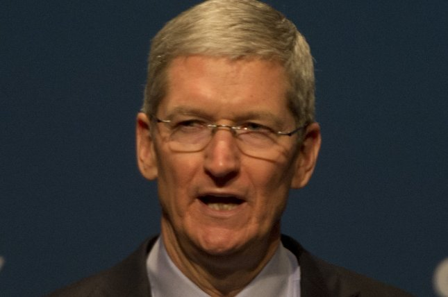 Apple CEO Tim Cook has campaigned for LGBT equality since coming out last year. Photo by Terry Schmitt/UPI