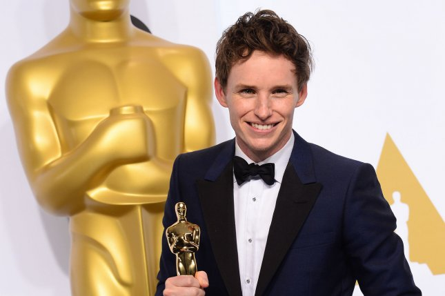 Eddie Redmayne at the Academy Awards on Feb. 22, 2015. File photo by Jim Ruymen/UPI