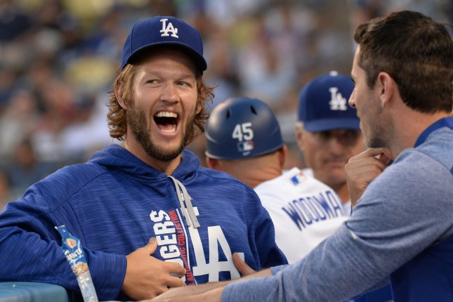 Los Angeles Dodgers ace Clayton Kershaw goes four innings in simulated game