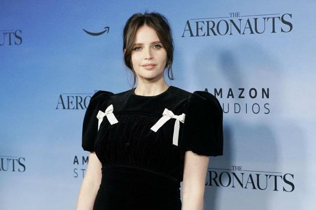Felicity Jones stars in The Last Letter from Your Lover, a new romantic drama coming to Netflix in July. File Photo by John Angelillo/UPI