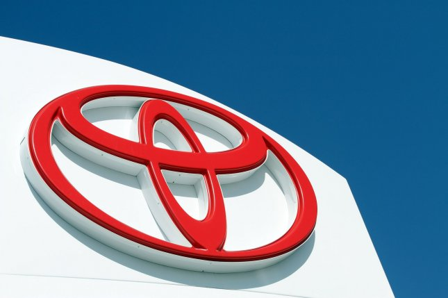 A Toyota logo is seen at a Toyota dealership in Sunnyvale, California on April 9, 2010. UPI/Mohammad Kheirkhah