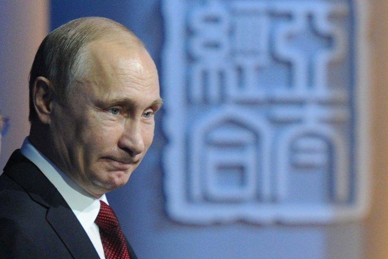 Russias Putin Sends Birthday Telegram To President Obama Upi