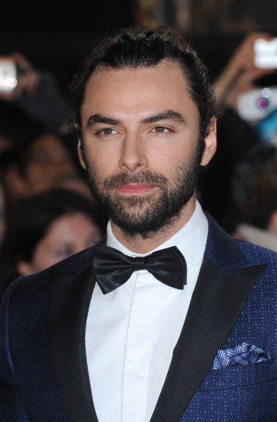 Aidan Turner attends the world premiere of The Hobbit: The Battle of the Five Armies in London on December 1, 2014. The actor has signed on to star in a third season of the Cornish costume drama Poldark. File Photo by Paul Treadway/UPI
