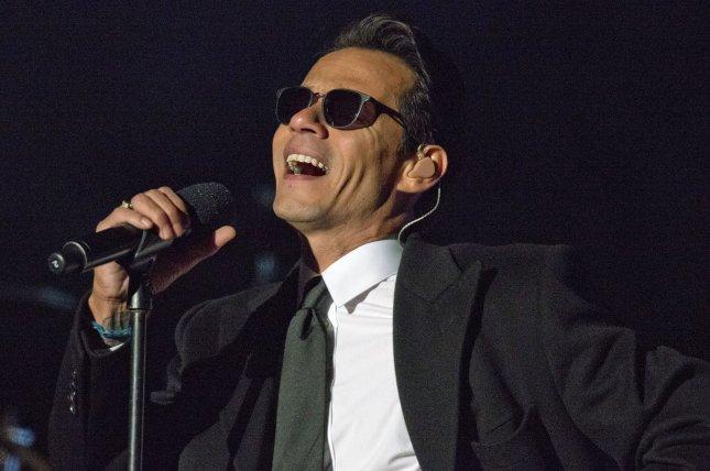 Marc Anthony performs at the National Christmas Tree Lighting Ceremony on  December 1, 2016. File Photo by Ron Sachs/UPI | License Photo